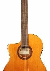 Cordoba C5-CE Left-Handed Acoustic Electric Nylon String Classical Guitar 2