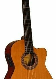 INDIANA IC-25CE Acoustic-Electric Guitar - Natural 5