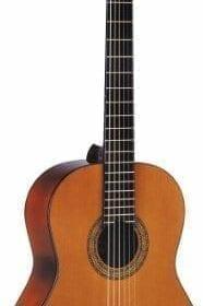 Washburn Classical Series C5 Classical Acoustic Guitar, Natural 7