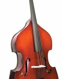 Cremona SB-2 Premier Novice Upright Bass 1/4 Size, Ebony Fingerboard 9