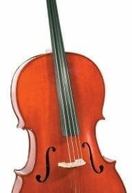 Cremona SC-175 Premier Student Cello Outfit Full Size, Ebony Fittings, Aging Toner, Deluxe Hard Case 6