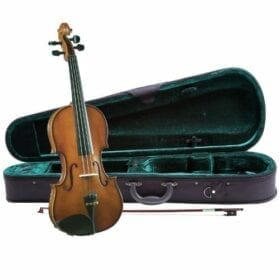 Cremona SV-130 1/2 Violin with Premium Strings 12