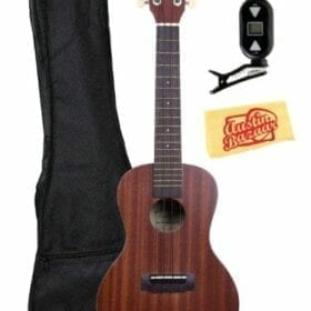 Kala KA-MK-C Makala Concert Ukulele Bundle with Gig Bag, Tuner, Instructional DVD, and Polishing Cloth 9