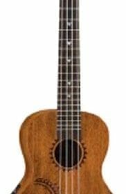Luna Mahogany Series Tattoo Concert Acoustic-Electric Ukulele 10