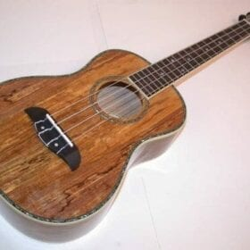 Oscar Schmidt Spalted Mango TENOR Acoustic/Electric Ukulele, OU7TE 8