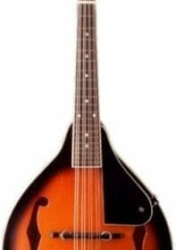 Stagg M-20 Bluegrass Mandolin with Basswood Top - Violin Burst 5